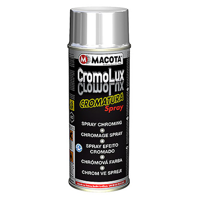 Cromolux: smalto per cromatura spray fino a  400°C, 400 ml