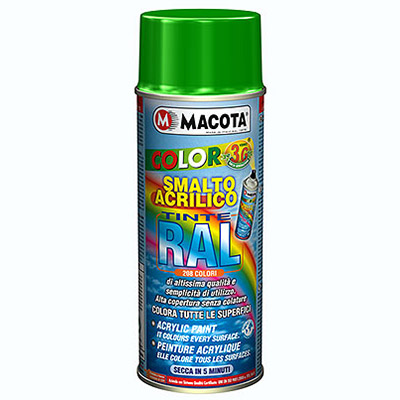 Vernici RAL Spray: Vernice Acrilica Spray in finitura Lucida   Ral 1027  giallo curry
