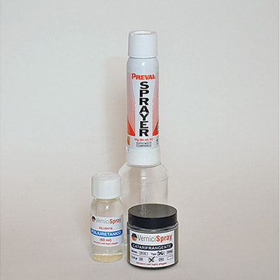 NextReflect Kit - Vernice Catarifrangente Silver 100 gr e Spray Gun