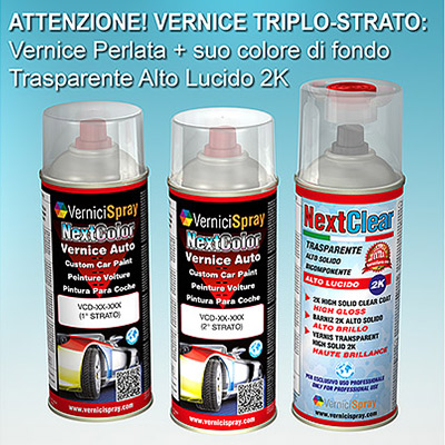 Kit Ritocco Vernice Auto Professionale BMW SERIE 3 A96 MINERALWEISS MET.
