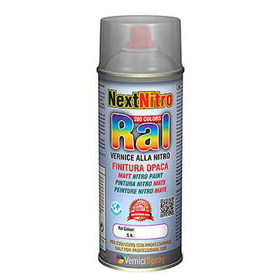 NextNitro - Vernice Nitro spray in colori RAL Opachi