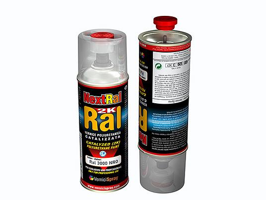 vernice bicomponente spray poliuretanica tutti i colori ral opachi ral 9005 nero profondo it. Black Bedroom Furniture Sets. Home Design Ideas